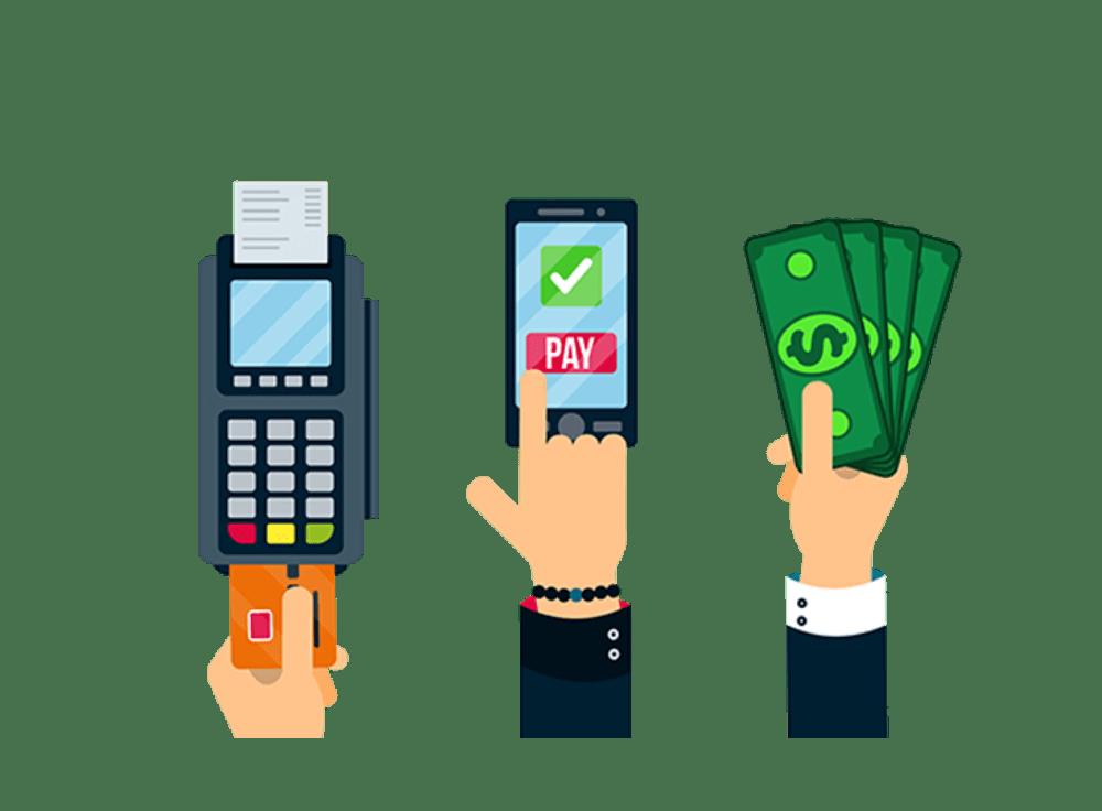 PrestaShop ofrece distintas formas de pago