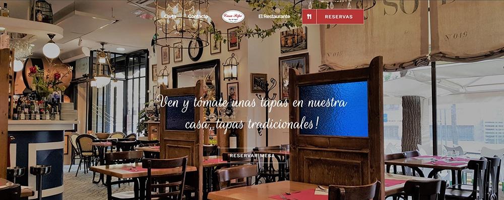 Casa Pepe Mataró cliente de éxito en Marketing Digital Mataró