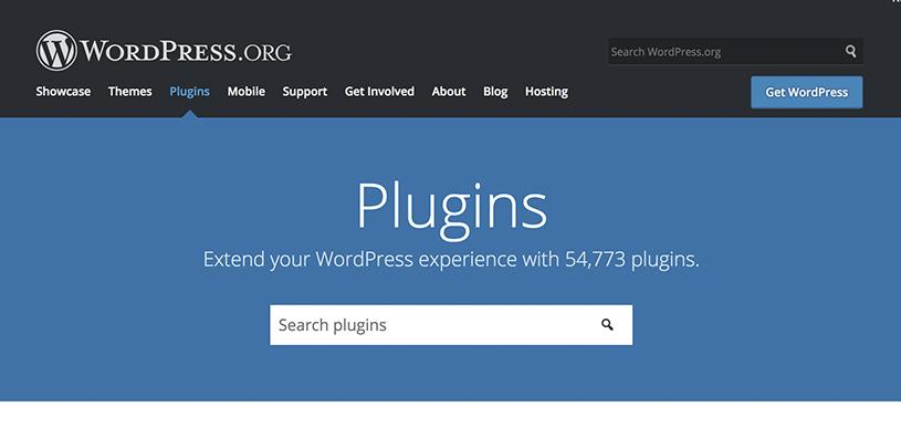 Catálogo de plugins WordPress