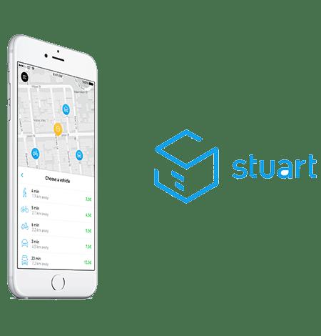 Web para restaurante, Stuart delivery es tu solución