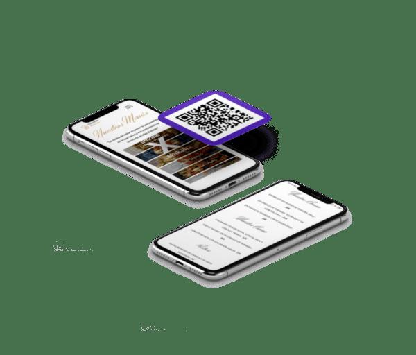 Tu web para restaurante con Stuart Delivery y códigos QR