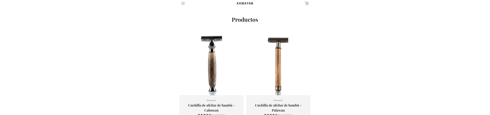 Kawayk Brand, tienda online de cuchillas de afeitar